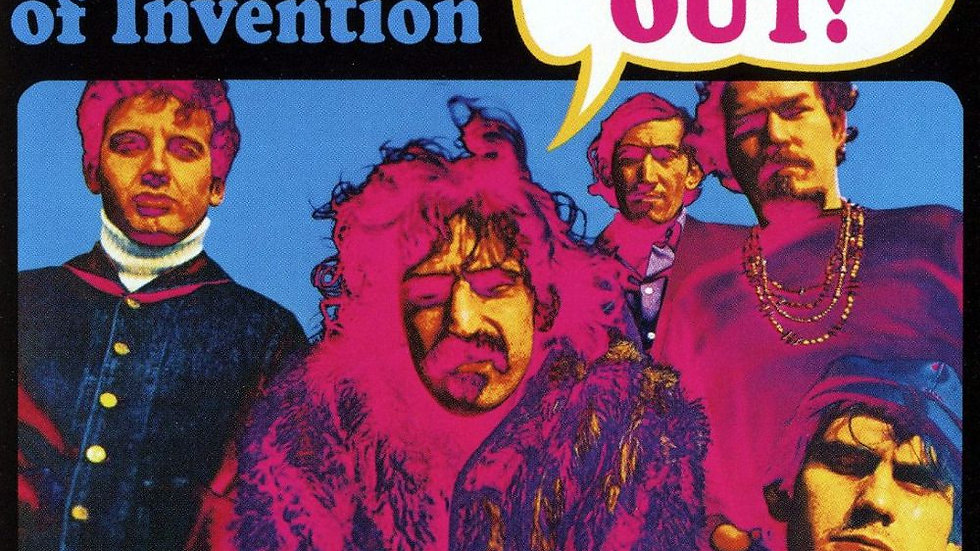 The Mothers Of Invention ‎– Freak Out!