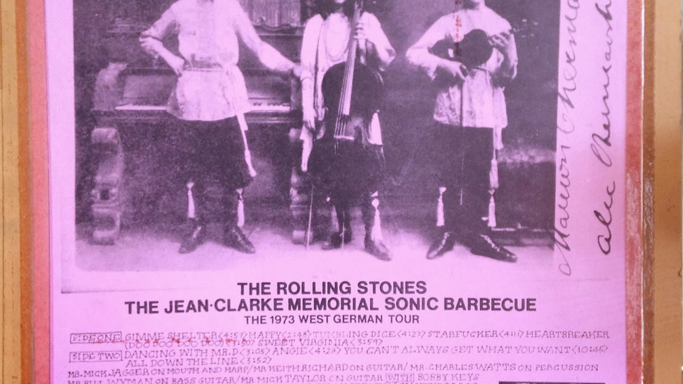 The Rolling Stones – The Jean-Clarke Mammorial Sonic Barbecue