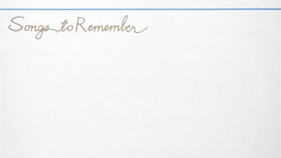 Scritti Politti – Songs To Remember