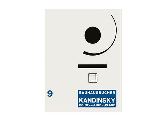 Wassily Kandinsky Point and Line to Plane (Bauhausbücher 9)