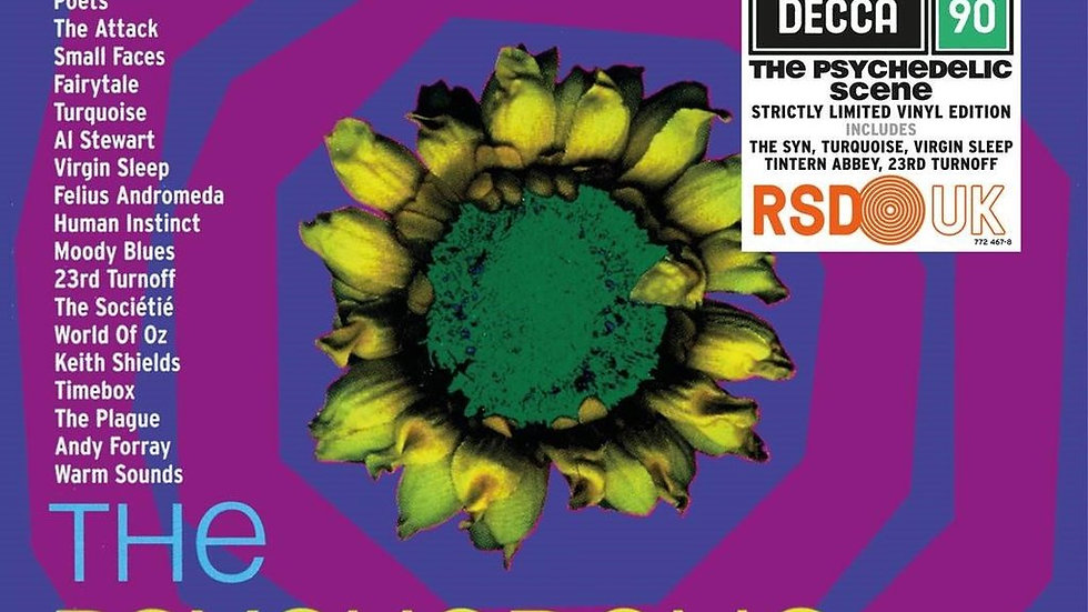 Various – The Psychedelic Scene