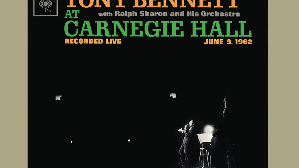Tony Bennett ‎– Tony Bennett At Carnegie Hall Part I