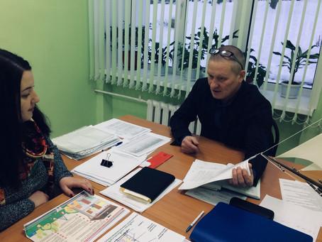 На днях прошла встреча руководителя Центра местной активности по Октябрьскому району .