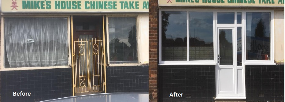 Shop Front Replacment