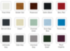 Comosite Door Colours