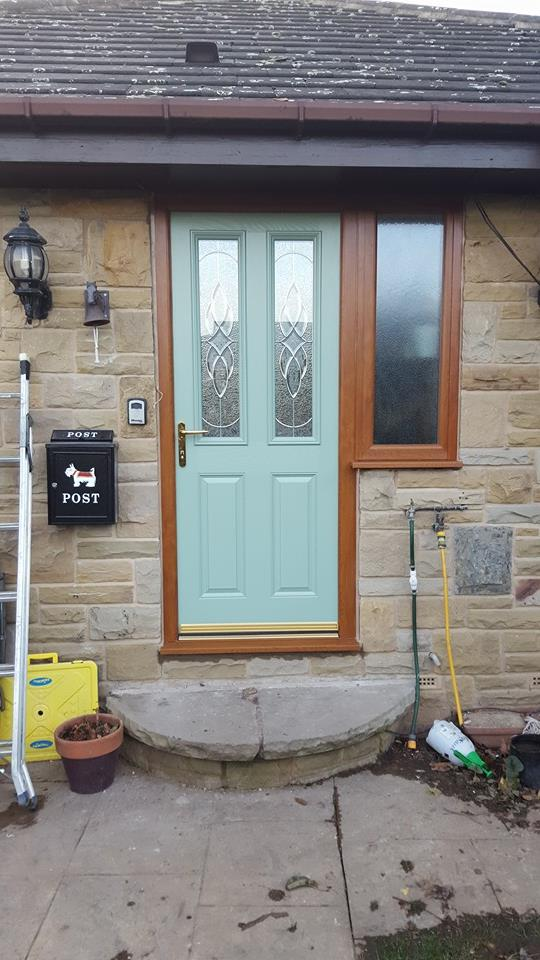 Chartwell Green Composite Door Installed by Driscolls