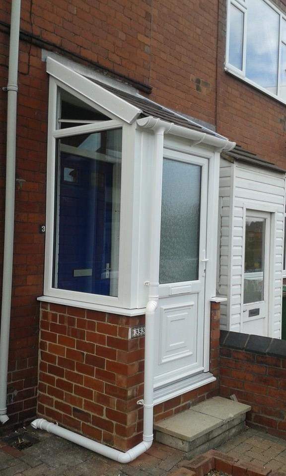 Replacement Porch in Outwood