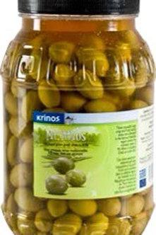 Mt Athos Green Olives 3L