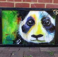 Grungy Panda