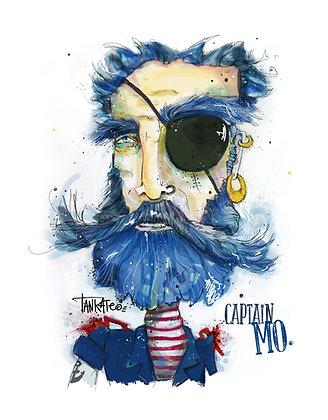 Captain MO - Paper print