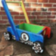 Just for fun  #kidkart #woodenkart #cust