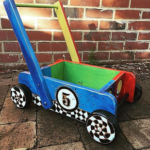 Just for fun  #kidkart #woodenkart #cust