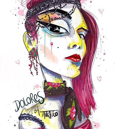 Dolores - Paper print