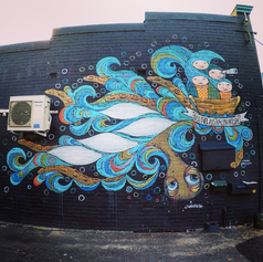 Arli Design Mural, assistance by Tankateo 2015