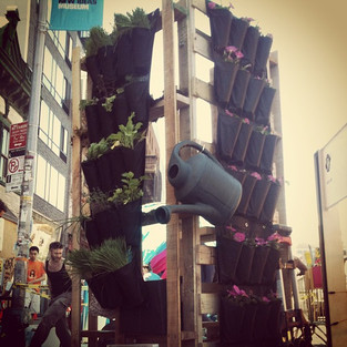 #ideacity #sculpture #verticalgarden #no
