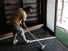環境整備・玄関掃除