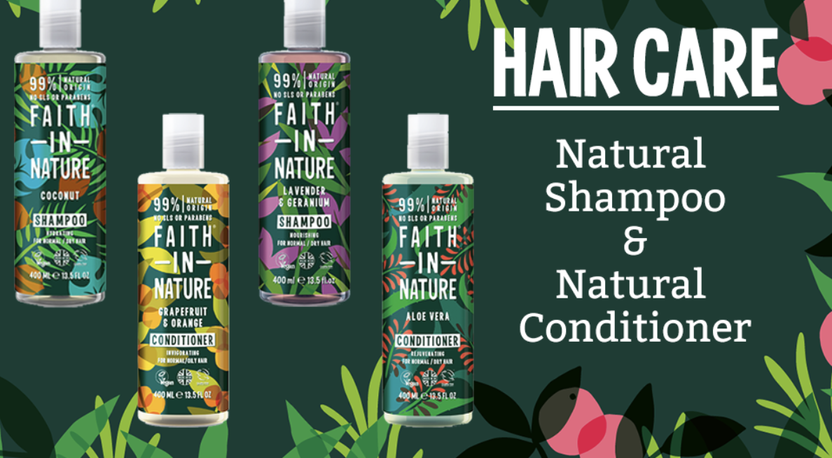 Faith in Nature Shampoo & Conditioner