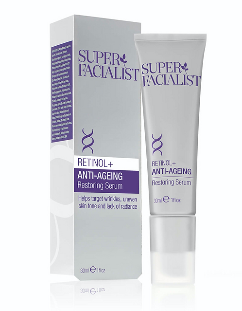 Superfacialist Retinol Anti-Aging Restoring Serum