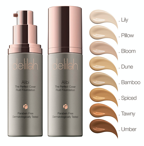 Alibi The Perfect Cover Fluid Foundation