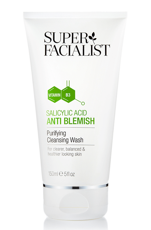 Superfacialist Salicylic Acid Anti Blemish Purifying Cleansing Wash