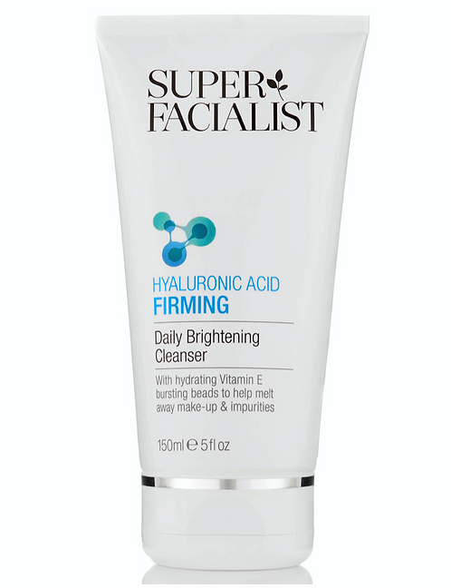 Superfacialist Hyaluronic Acid Firming Daily Brightening Cleanser