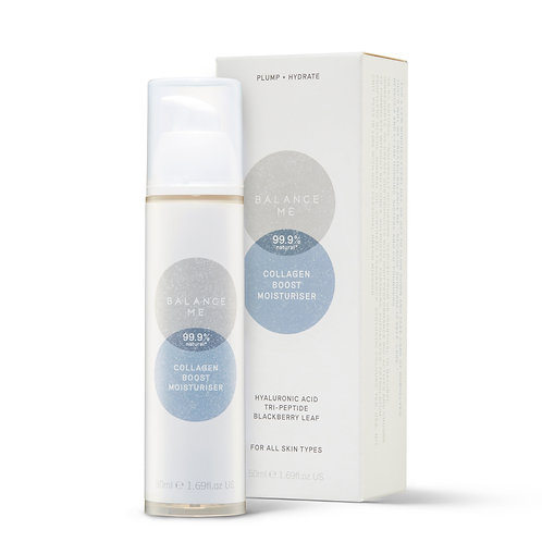 Balance Me Collagen Boost Moisturiser with Hyaluronic Acid