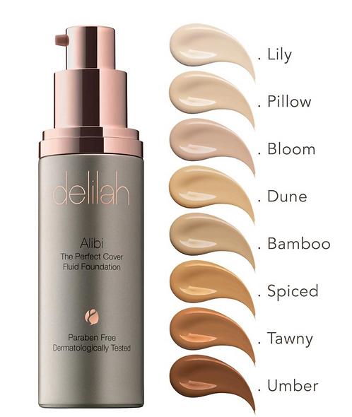 Delilah Alibi | Perfect Coverage Foundation