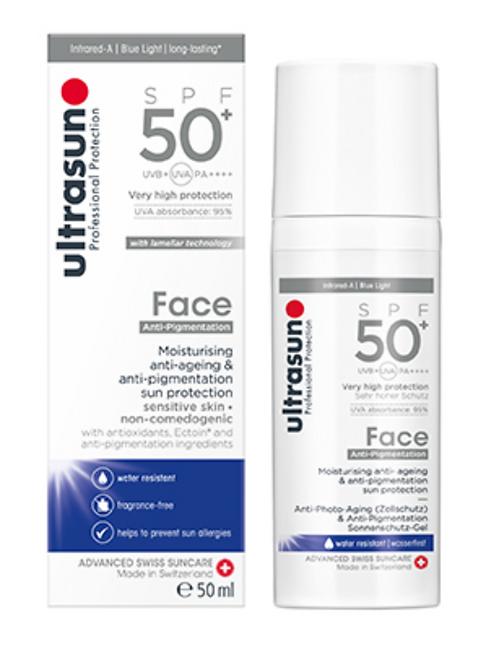Ultrasun Face 50+ Anti-Pigmentation
