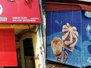 Wooden Blinds Manjung | Waly Advertising | Perak