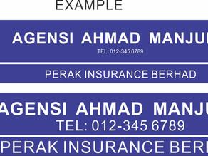 How to design a signboard in Manjung, Perak?