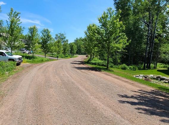 Gravel Road Reshaping