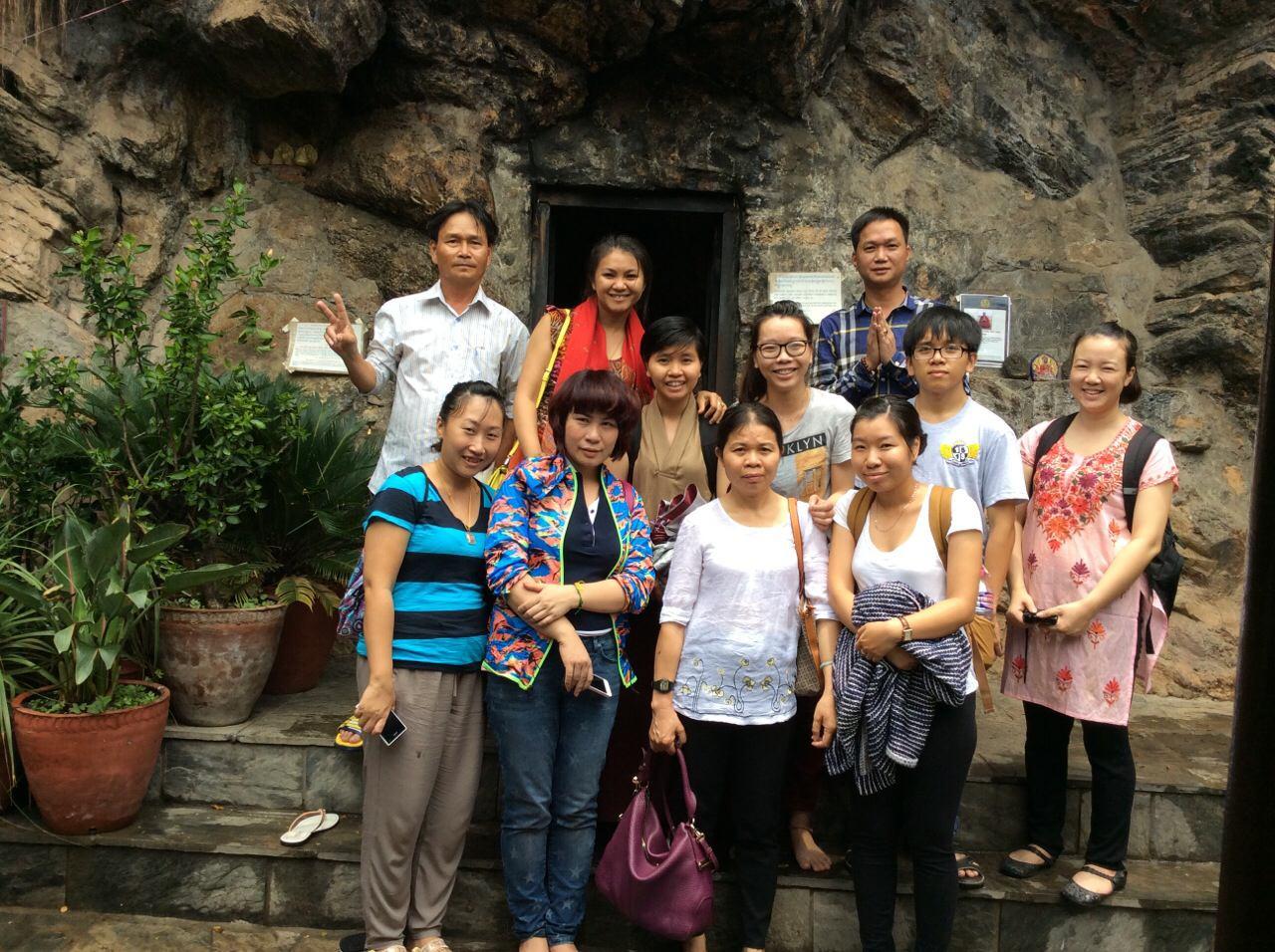 Đoàn hành hương tháng 07/2014
