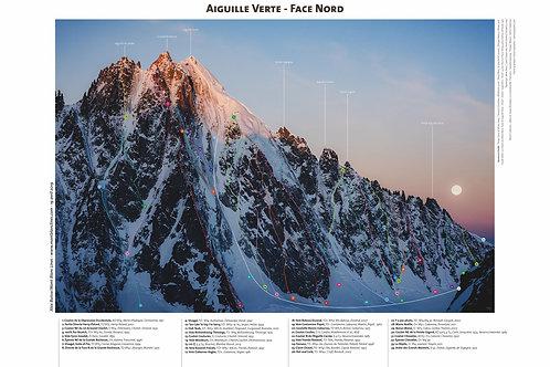 Aiguille Verte - Face Nord II