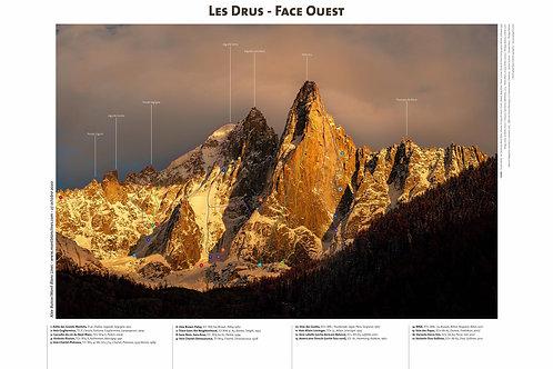 Les Drus - Face Ouest