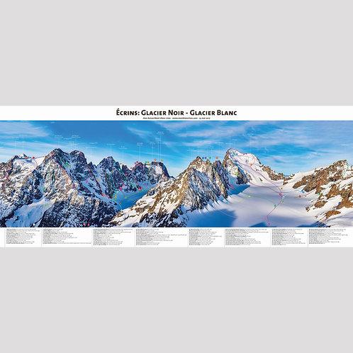 Écrins : Glacier Noir - Glacier Blanc (panoramic)