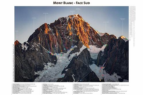 Mont Blanc - Face Sud