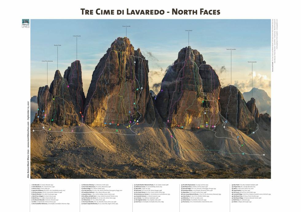 Tre Cime di Lavaredo - North Faces