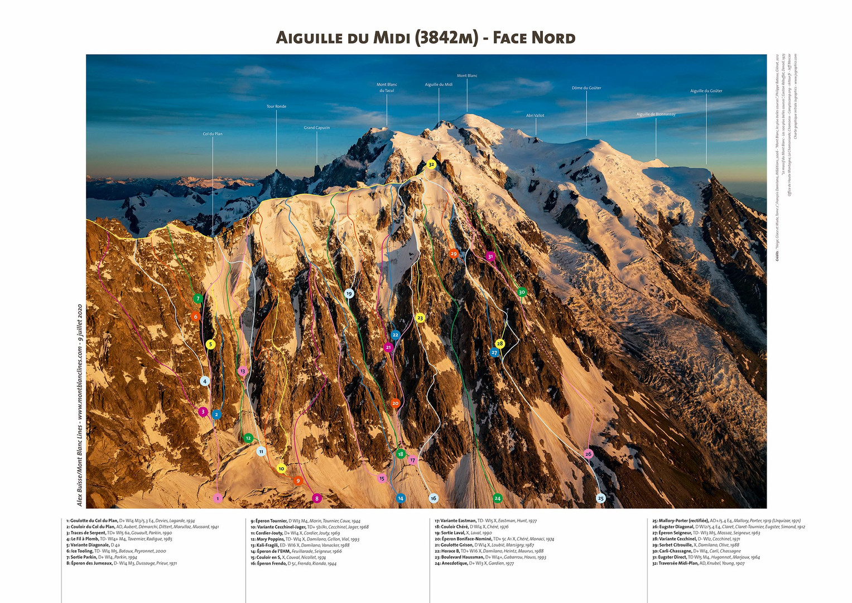 Aiguille du Midi - Face Nord