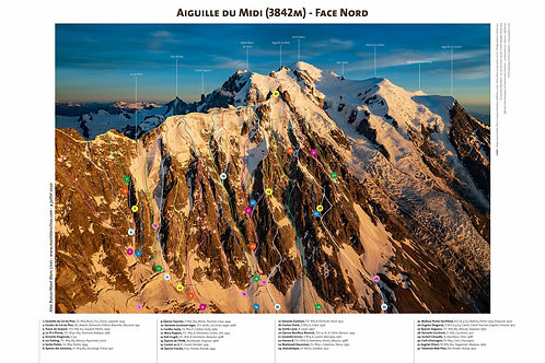 Aiguille du Midi - North Face