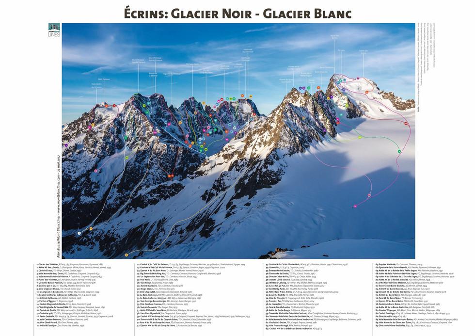 Écrins _ Glacier Noir - Glacier Blanc