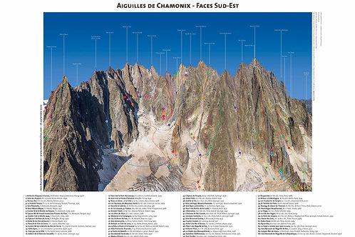 Aiguilles de Chamonix - Faces Sud-Est