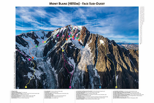 Mont Blanc - Southwest Face