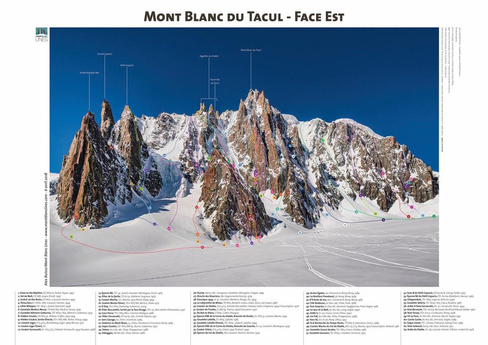 Mont Blanc du Tacul - Face Est