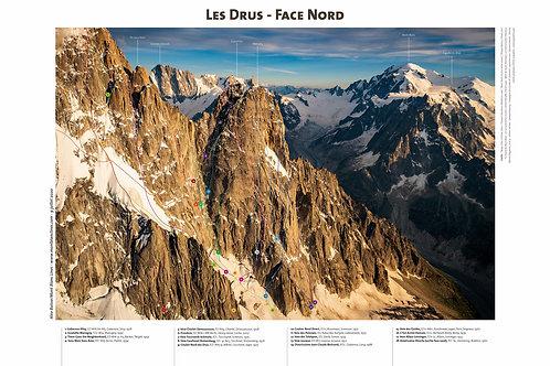 Les Drus - Face Nord