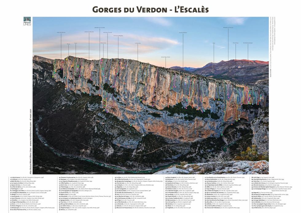 Gorges du Verdon - l'Escalès