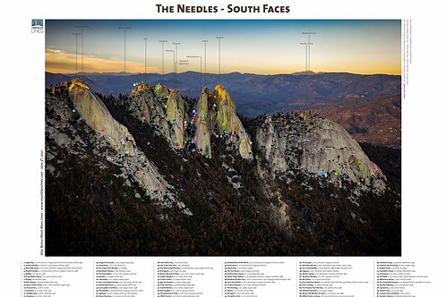 The Needles - South Faces