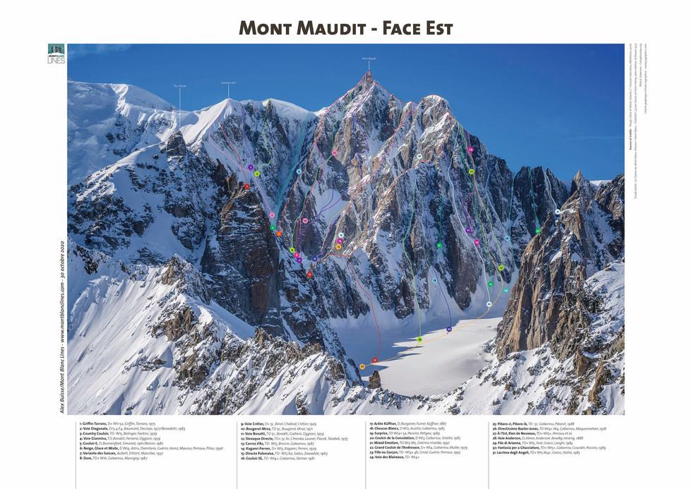 Mont Maudit - Face Est