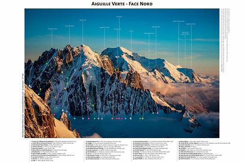 Aiguille Verte - Face Nord