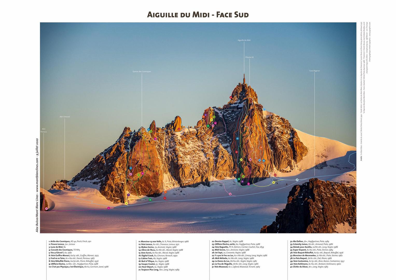 Aiguille du Midi - Face Sud