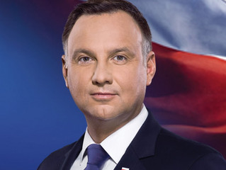 Poland election draws 'pink line' through Europe